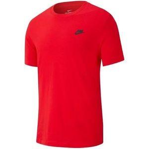 """Nike Logo Tee """"Red"""""""